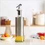 Lọ đựng nước mắm, dấm, dầu ăn và gia vị khác 300ml bằng thủy tinh bọc inox 304